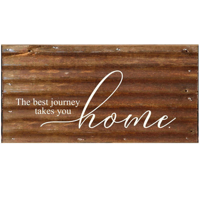 Best Journey Metal Wall Sign | Iron Accents