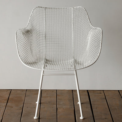Biscayne Wire Chair - White (Set) | Iron Accents