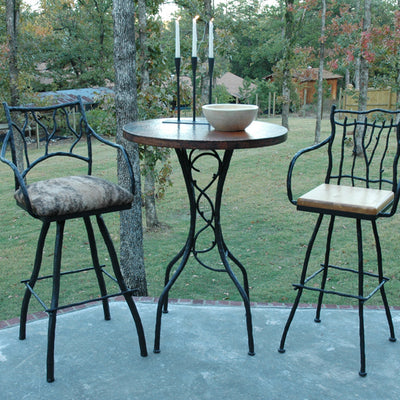 Branches Bar Stool | Iron Accents