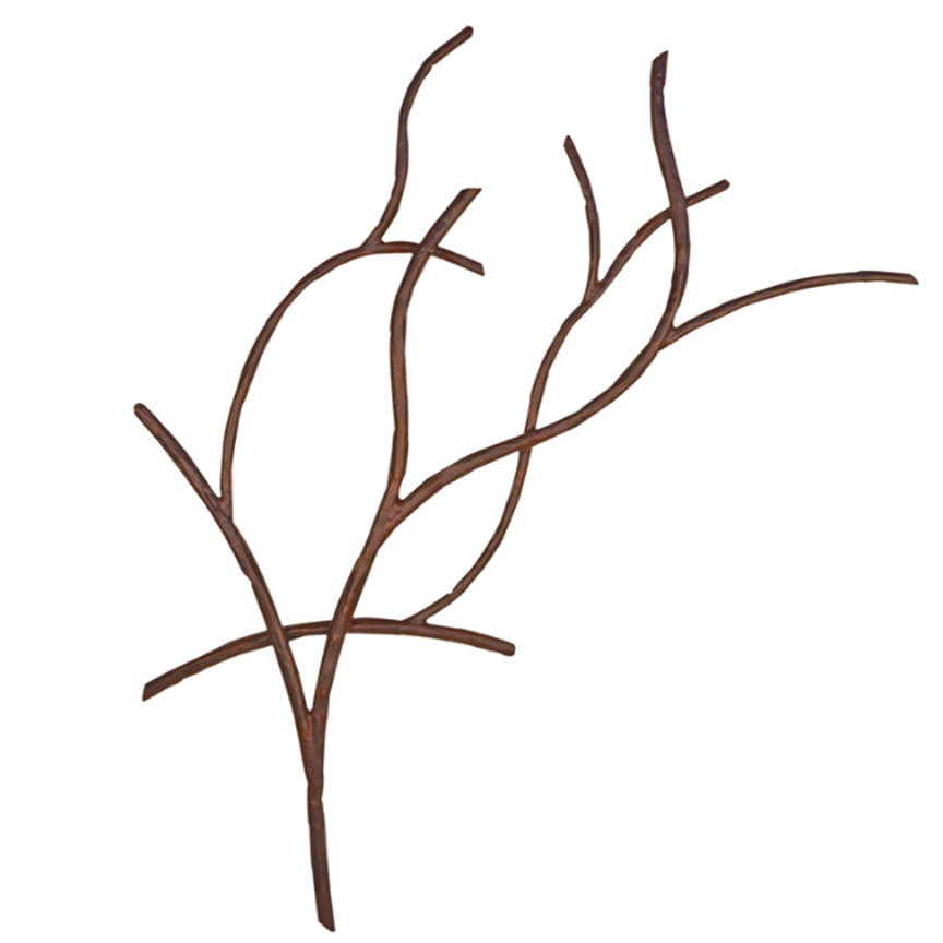 Branches Wall Mural Iron Accents