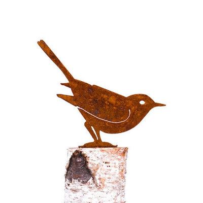 Brown Thrasher Garden Art | Iron Accents