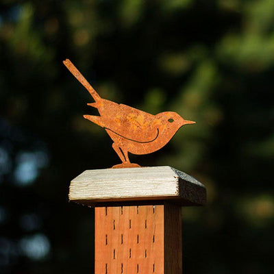 Brown Thrasher Garden Art