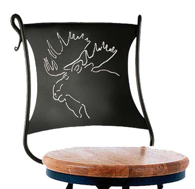 Bull Moose Counter Stool