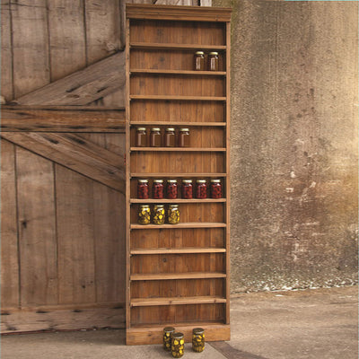 Canning Hutch | Iron Accents
