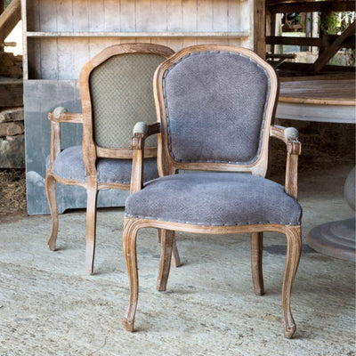 Capital Arm Chair | Iron Accents