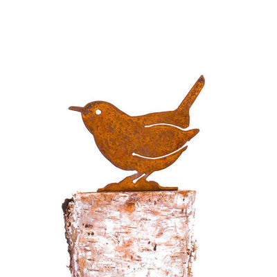 Carolina Wren Garden Art | Iron Accents