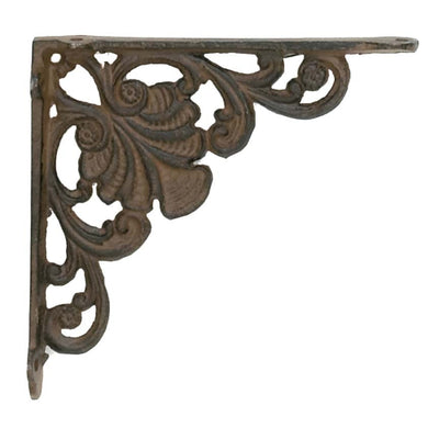 Cast Iron Shell Bracket | Iron Accents