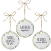 Wreath Ornaments (Set-3)