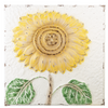 Embossed Sunflower Wall Plaque