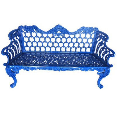 Colonial Bench - Large-Iron Accents