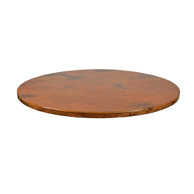 "Copper Table Top - Oval 30"" x 48"""