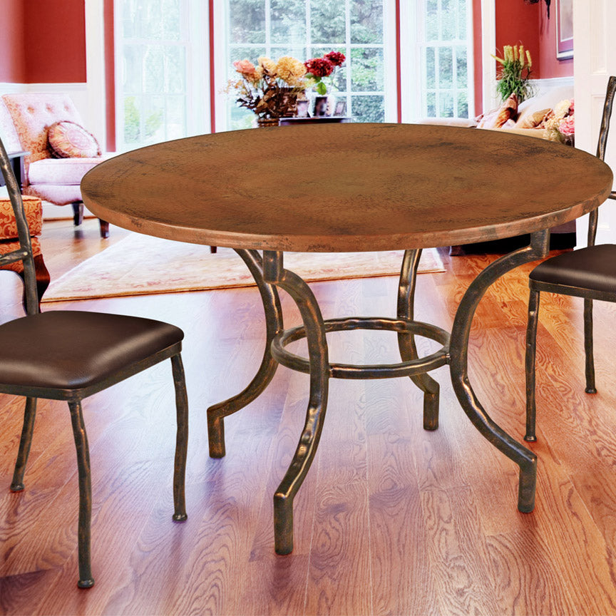 Corbin Dining Table Base 48 Iron Accents