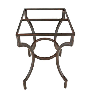 Corinthian End Table / Base -20x14 | Iron Accents