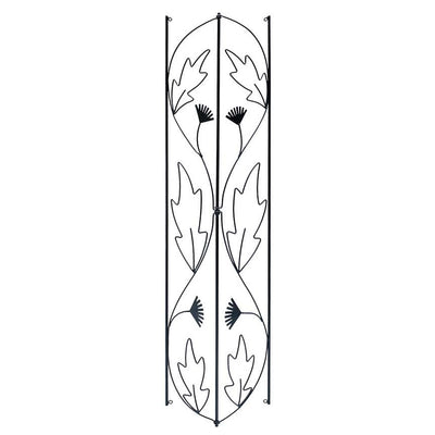 Wrought Iron Corner Trellis Closeup