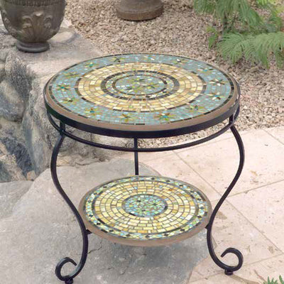 Mosaic Double End Table - 24""