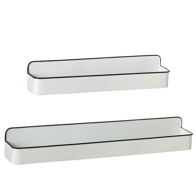 Enamel Wall Shelf (Set-2)
