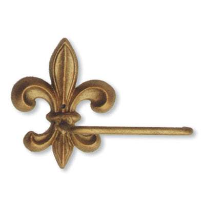 Fleur de Lis Toilet Paper Holder | Iron Accents
