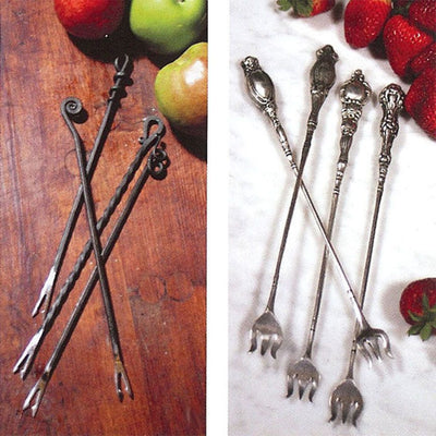 Forged Fondue Forks (Set-4) Styles