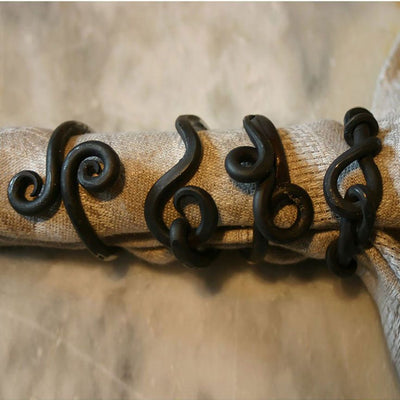 Forged Napkin Rings (Set-4)