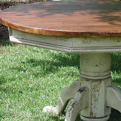 Hand Crafted Pedestal Table