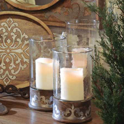 Heritage Candleholders | Iron Accents