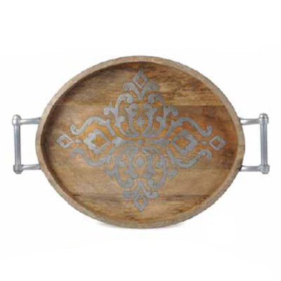 Heritage Oval Tray - Large | Iron Accents