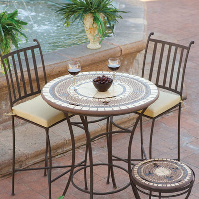Mosaic High Dining Table - 30""