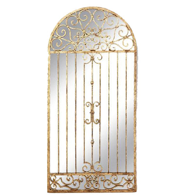 Iron Garden Gate Mirror