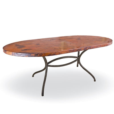 Italia Oval Dining Table / Base -72x44