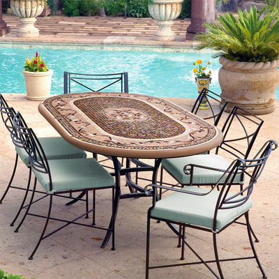 Mosaic Patio Table - 72x42
