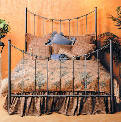 Knot Wrought Iron Bed