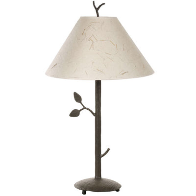 Leaf Wrought Iron Table Lamp