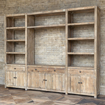 Loft Entertainment Center | Iron Accents