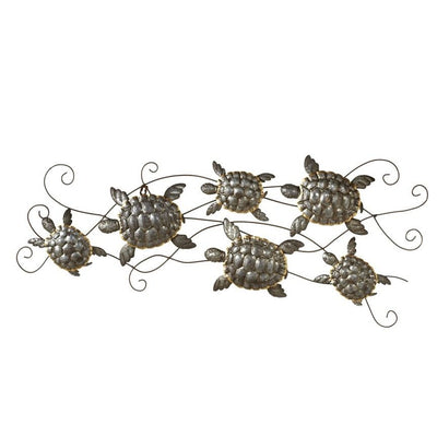 Multi Turtle Wall Plaque