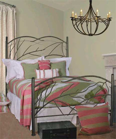 Norfork Wrought Iron Bed