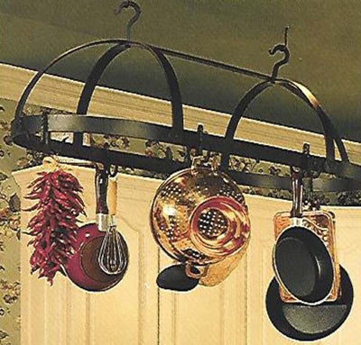 Oval Iron Pot Rack