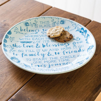 Pass It On - Blessing Plate | Iron Accents