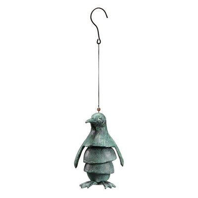 Penguin Wind Chime-Garden | Iron Accents