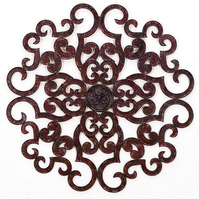 "50"" Scroll Wall Grill - Brown"