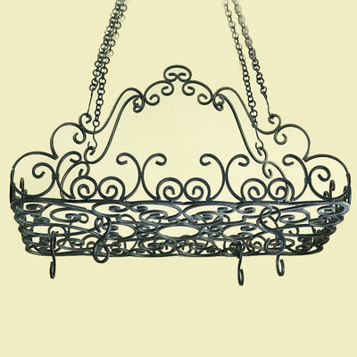 Scroll Top Pot Rack