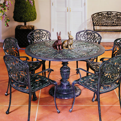 Sea Island Pedestal Table Grouping
