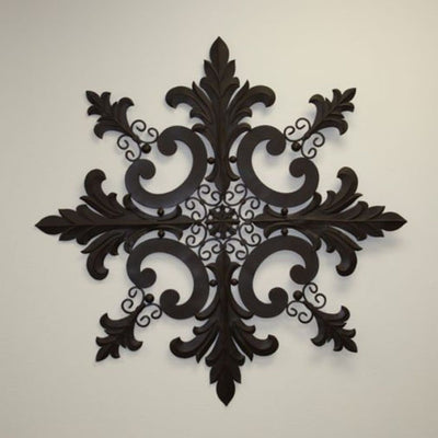 Snowflake Wall Plaque -38""