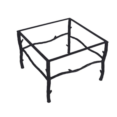South Fork Coffee Table / Base -36x36 | Iron Accents