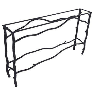 South Fork Console Table / Base -60x14 | Iron Accents