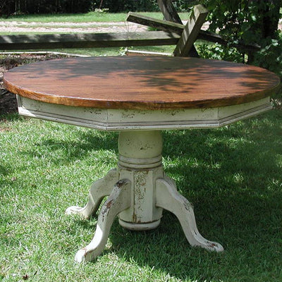 Hand-Craft Pedestal Table