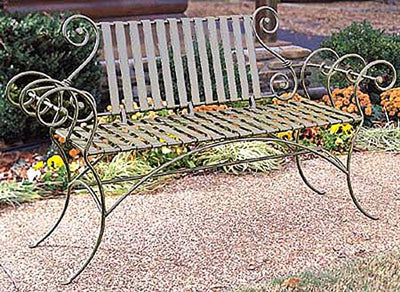 Waterbury Bench w/ Back