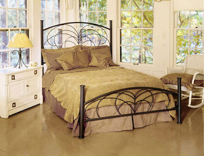 Willow Wrought Iron Bed