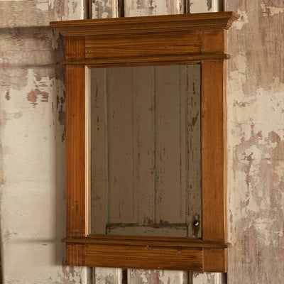Window Frame Mirror | Iron Accents
