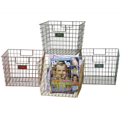 Wire Locker Basket (Set-4)