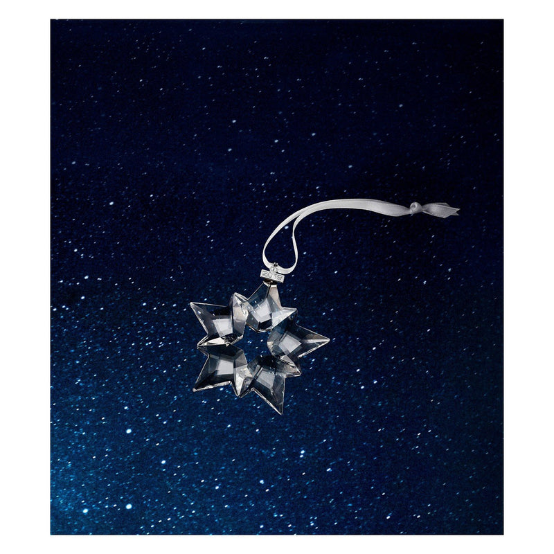 Swarovski Christmas Ornament 2019, Large Crystal Ornament - White , Annual Edition